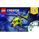 LEGO Helicopter Adventure Set 31092 Instructions