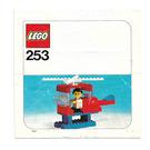 LEGO Helicopter Set 253-2 Instructions