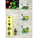 LEGO Helicopter Transport Set 1276 Instructions