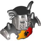 LEGO Helmet M Wings Deksilver Visor (51764)