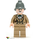 LEGO Henry Jones Senior (Dark Gray Hat) Minifigure