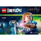 LEGO Hermione Granger Fun Pack Set 71348 Instructions