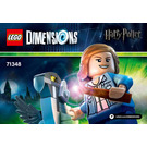 LEGO Hermione Granger Set 71348 Instructions