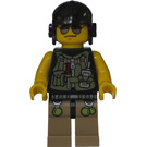 LEGO Hero, Driver / Mechanic with Utility Vest Minifigure