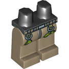 LEGO Hero, Driver / Mechanic with Utility Vest Minifigure Hips with Dark Tan Legs (3815 / 74707)