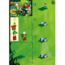 LEGO Hidden Treasure Set 5905 Instructions