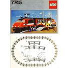 LEGO High-Speed City Express Passenger Train Set 7745 Instructions