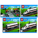 LEGO High-speed Passenger Train Set 60051 Instructions