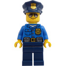 LEGO High Speed Police Chase Cop with Sunglasses Minifigure