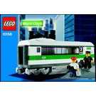 LEGO High Speed Train Car Set 10158 Instructions