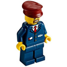 LEGO High-speed Train Conductor Minifigure