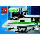 LEGO High Speed Train Locomotive Set 10157 Instructions