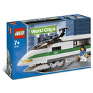 LEGO High Speed Train Locomotive Set 10157 Packaging
