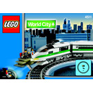 LEGO High Speed Train Set 4511 Instructions