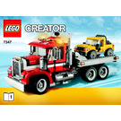 LEGO Highway Pickup Set 7347 Instructions