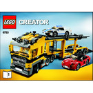 LEGO Highway Transport Set 6753 Instructions
