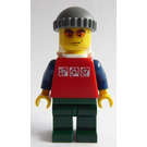 LEGO Hiker with White Backpack Minifigure