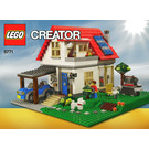 LEGO Hillside House Set 5771 Instructions