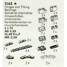 LEGO Hinges, Couplings and Tilting Bearings Set 5165