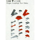 LEGO Hinges, Couplings, Turntables Set 5388