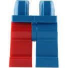 LEGO Hips with Blue Left Leg and Red Right Leg (73200)