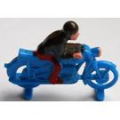 LEGO HO Scale Motorcyclist (Racing)