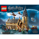 LEGO Hogwarts Great Hall Set 75954 Instructions