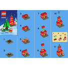 LEGO Holiday Building Set 40009 Instructions
