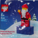 LEGO Holiday Santa Magnet 2010 (2855167)