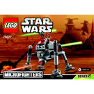 LEGO Homing Spider Droid Microfighter Set 75077 Instructions