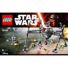 LEGO Homing Spider Droid Set 75142 Instructions