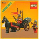 LEGO Horse Cart Set 6022 Instructions