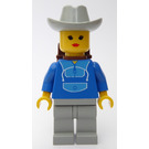 LEGO Horse Riding Female with Blue Jogging Suit Minifigure
