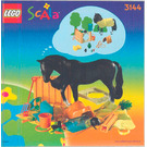 LEGO Horse Stable Set 3144 Instructions