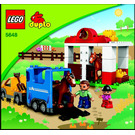 LEGO Horse Stables Set 5648 Instructions