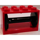 LEGO Hose Reel 2 x 4 x 2 Holder with Spool (4209)