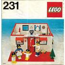 LEGO Hospital Set 231-1 Instructions