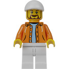 LEGO Hot Dog Vendor Minifigure