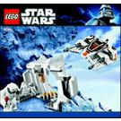 LEGO Hoth Wampa Cave Set 8089 Instructions