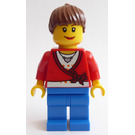 LEGO House Building Set Lady Minifigure