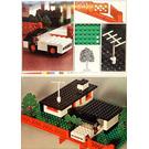 LEGO House with Mini Wheel Car Set 345-1