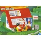 LEGO House with Roof-Windows Set 1854