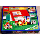 LEGO House with Roof-Windows Set 1854 Packaging