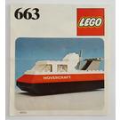LEGO Hovercraft Set 663 Instructions
