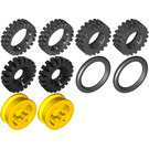 LEGO Hubs And Tyres Set 9899
