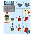 LEGO Huckit Crab Set 71386-1 Instructions