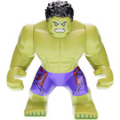 LEGO Hulk - Dark purple pants with dark red  pattern Minifigure