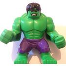 LEGO Hulk Supersized Minifigure with Dark Purple Pants