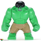 LEGO Hulk Supersized Minifigure with Tan Pants