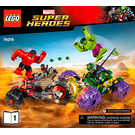LEGO Hulk Vs. Red Hulk Set 76078 Instructions
